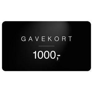 Gavekort Gavekort | Sort