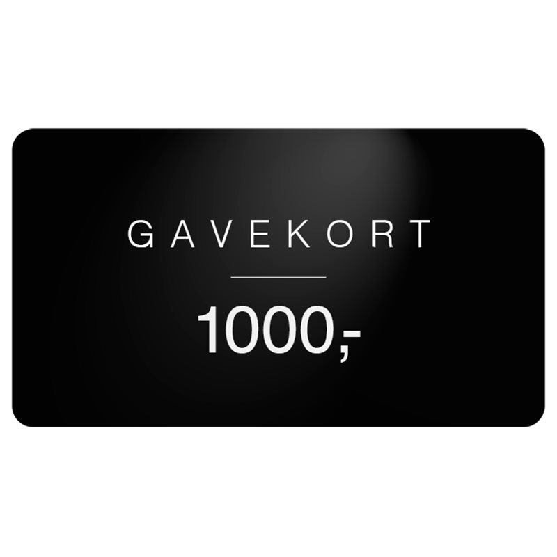 Gavekort Gavekort 1.000