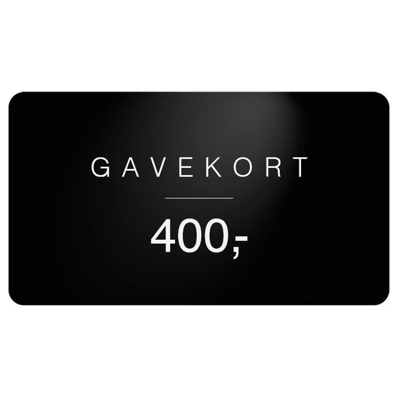 Gavekort gavekort 400 fra gavekort på quint.dk