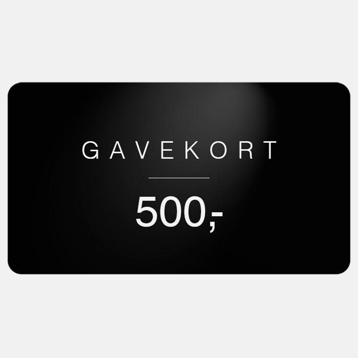 Gavekort - Gavekort - Sort