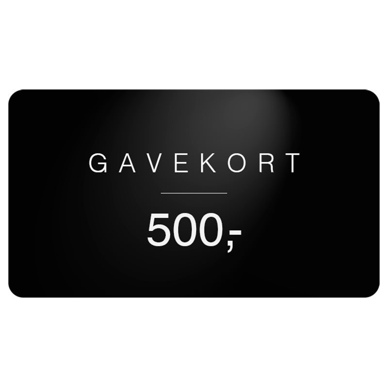 Gavekort Gavekort 500