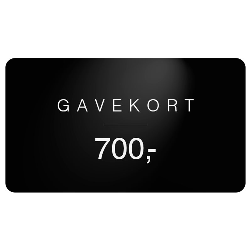 Gavekort Gavekort 700
