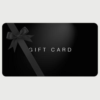 Geschenkgutscheine Geschenkgutscheine | Schwarz