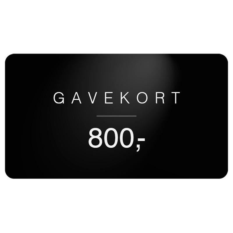 Gavekort Gavekort 800