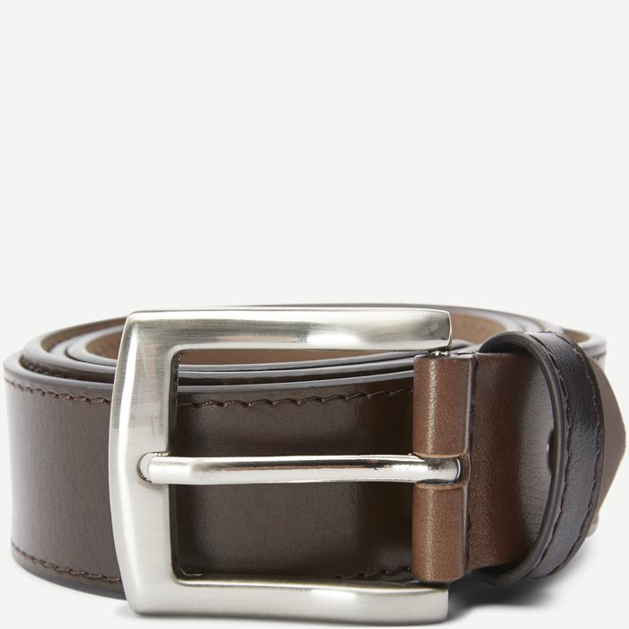 2270 BELT LEATHER Bælter - Bælter - Brun