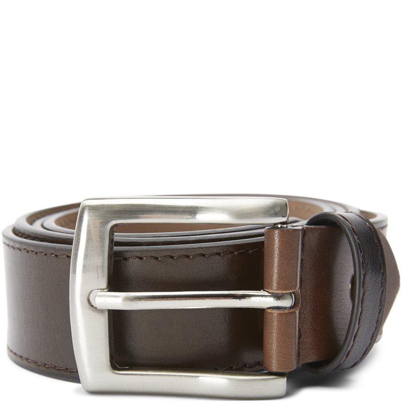 Pbo - 2270 belt leather bælter fra pbo på kaufmann.dk