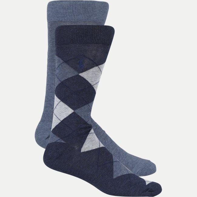 2 pack sokker