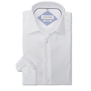 Twill Skjorte Modern fit | Twill Skjorte | Hvid