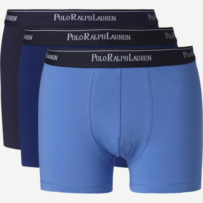 3-pack Classic Cotton Stretch Trunk - Undertøj - Regular - Blå