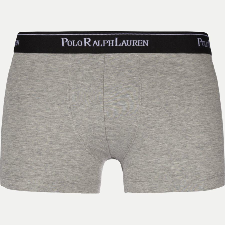 714513424 - 3-pack Classic Cotton Stretch Trunk - Undertøj - Regular - SORT/HVID/KOKS - 2