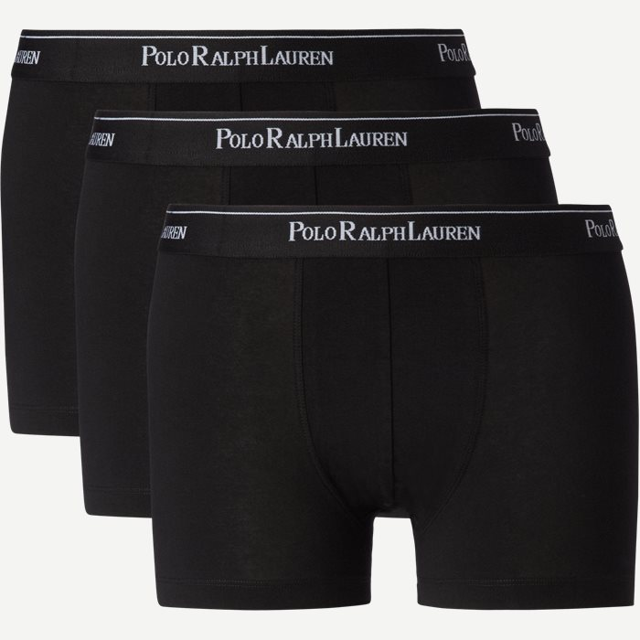 3-pack Classic Cotton Stretch Trunk - Undertøj - Regular - Sort
