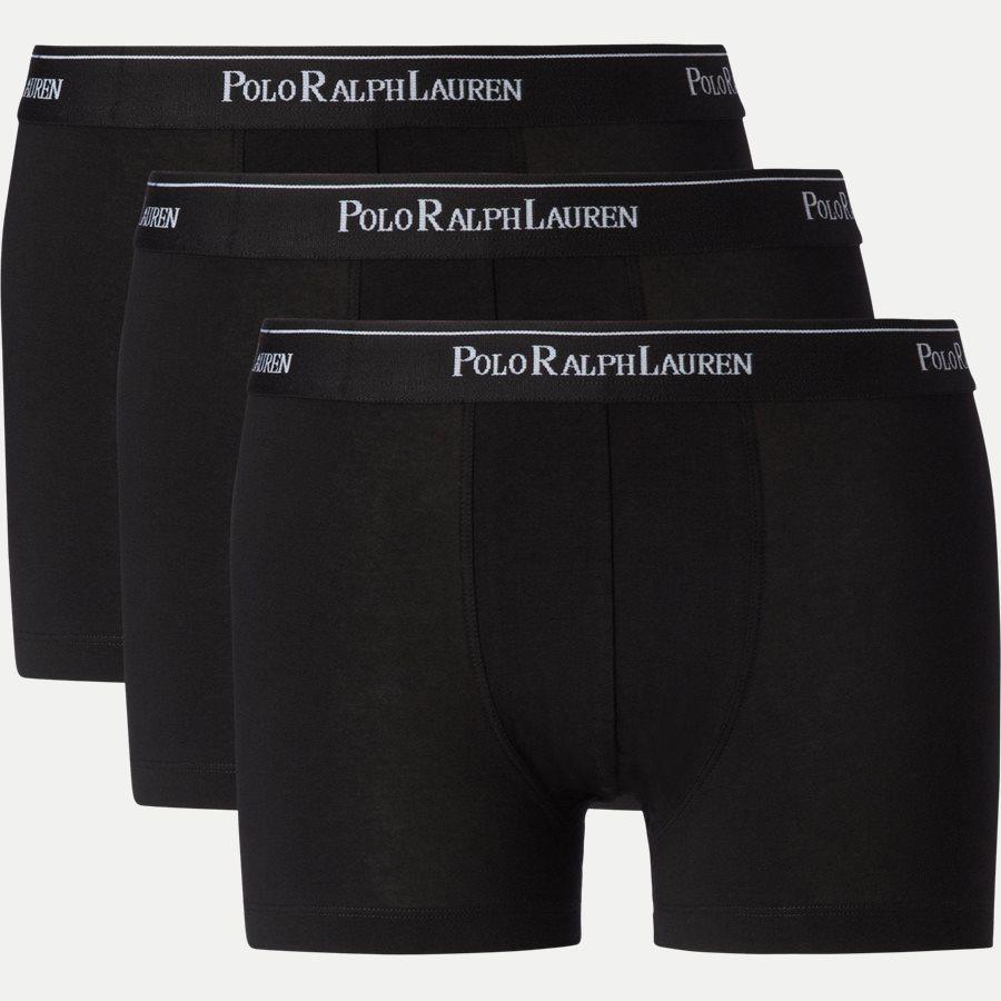 714513424 - 3-pack Classic Cotton Stretch Trunk - Undertøj - Regular - SORT - 1