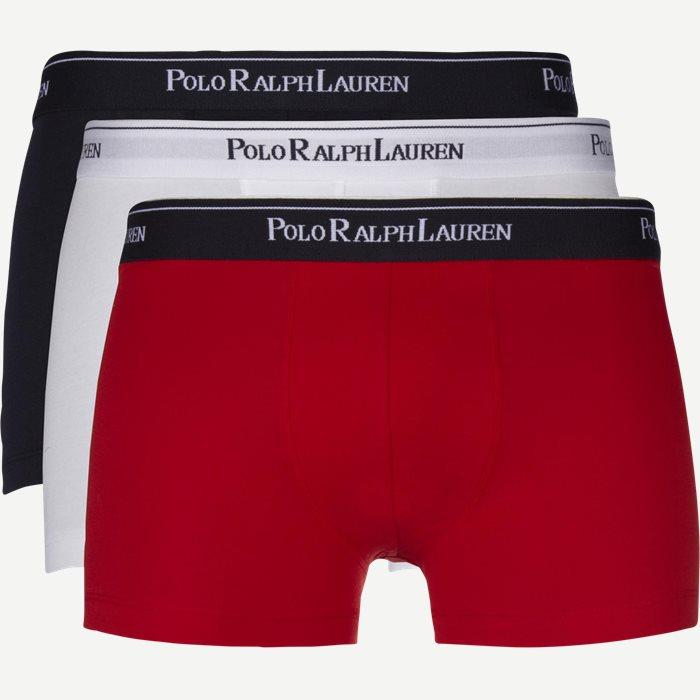 3-pack Classic Cotton Stretch Trunk - Undertøj - Regular - Hvid