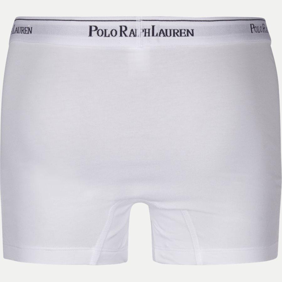 714513424 - 3-pack Classic Cotton Stretch Trunk - Undertøj - Regular - WHT/BLU/RED - 3