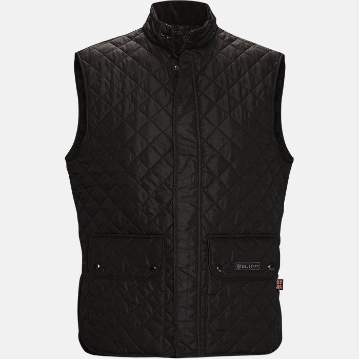 C50N0192 WAISTCOAT vest - Veste - Slim - Sort