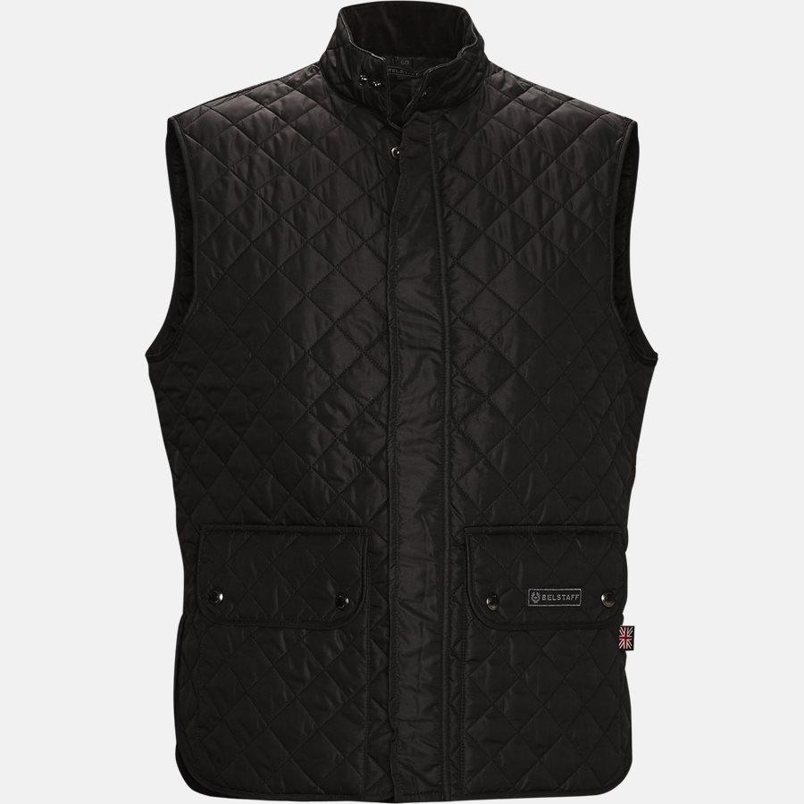 C50N0192 WAISTCOAT - C50N0192 WAISTCOAT vest - Veste - Slim - BLACK - 1