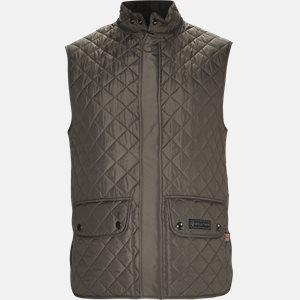 C50N0192 WAISTCOAT vest Slim | C50N0192 WAISTCOAT vest | Grå