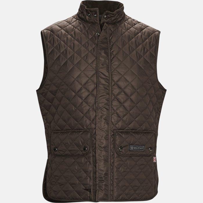 C50N0192 WAISTCOAT vest - Veste - Slim - Brun