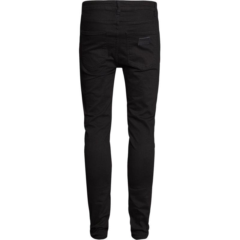 Just Junkies Night Sicko Black Jeans Sort