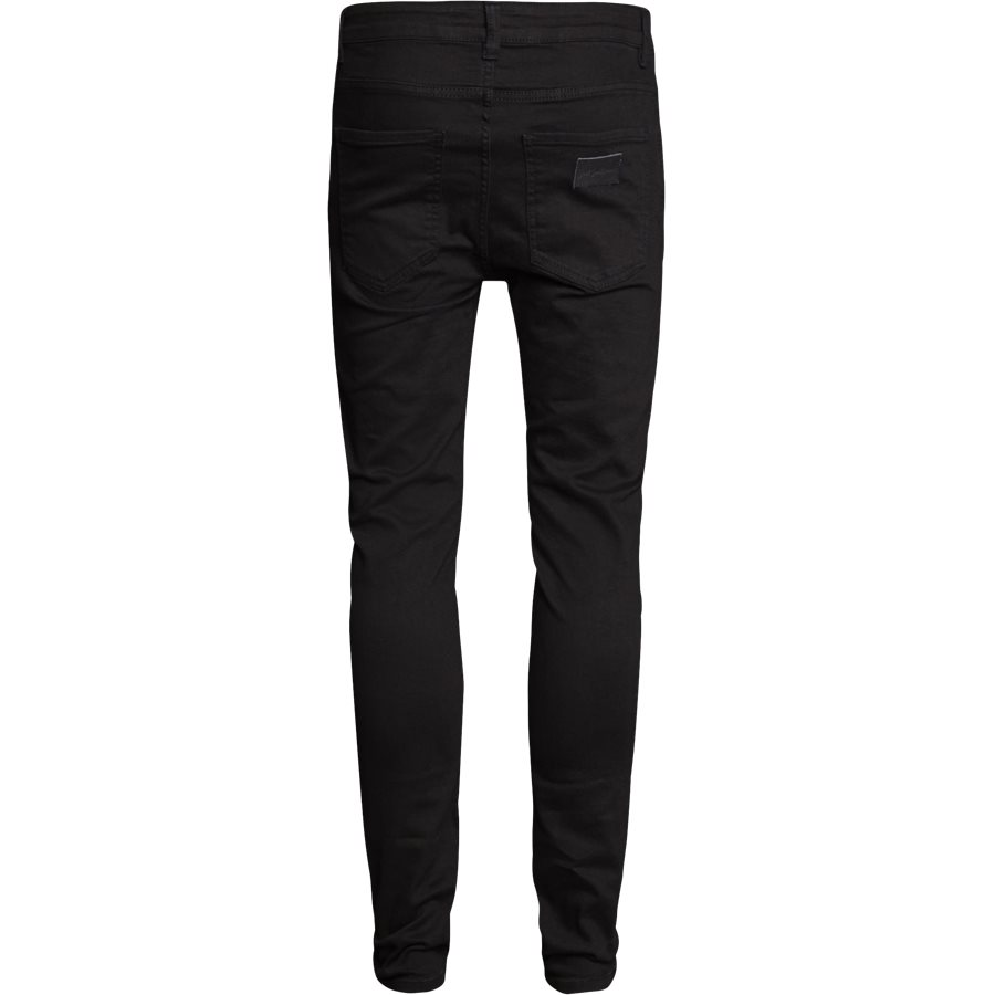 NIGHT SICKO BLACK - Night Sicko Black Jeans - Jeans - Slim - SORT - 4