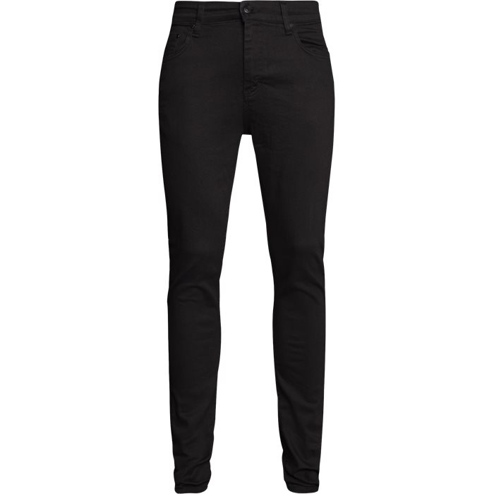 Night Sicko Black Jeans - Jeans - Slim - Sort