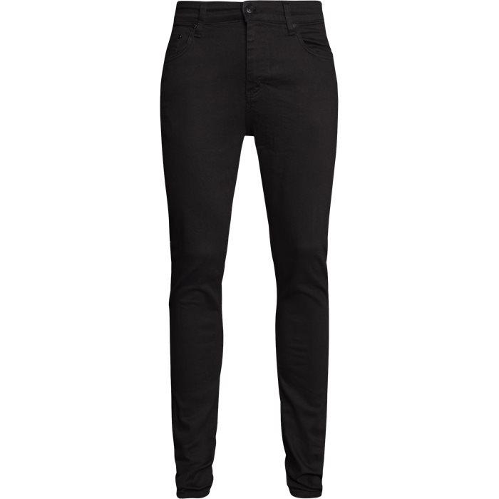 NIGHT SICKO BLACK JEANS - Jeans - Slim - Sort