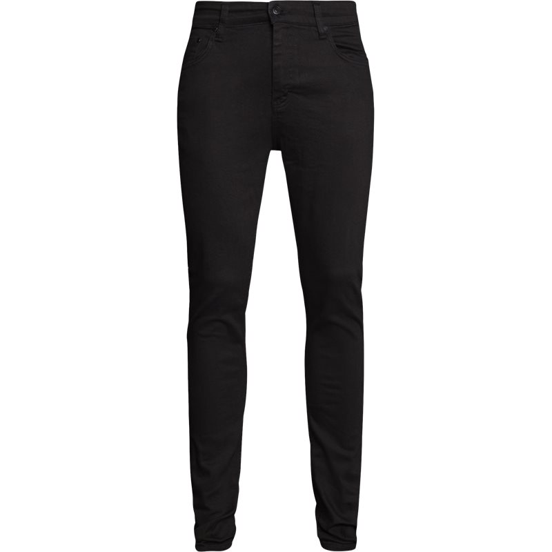 Image of   Just Junkies Night Sicko Black Jeans Sort