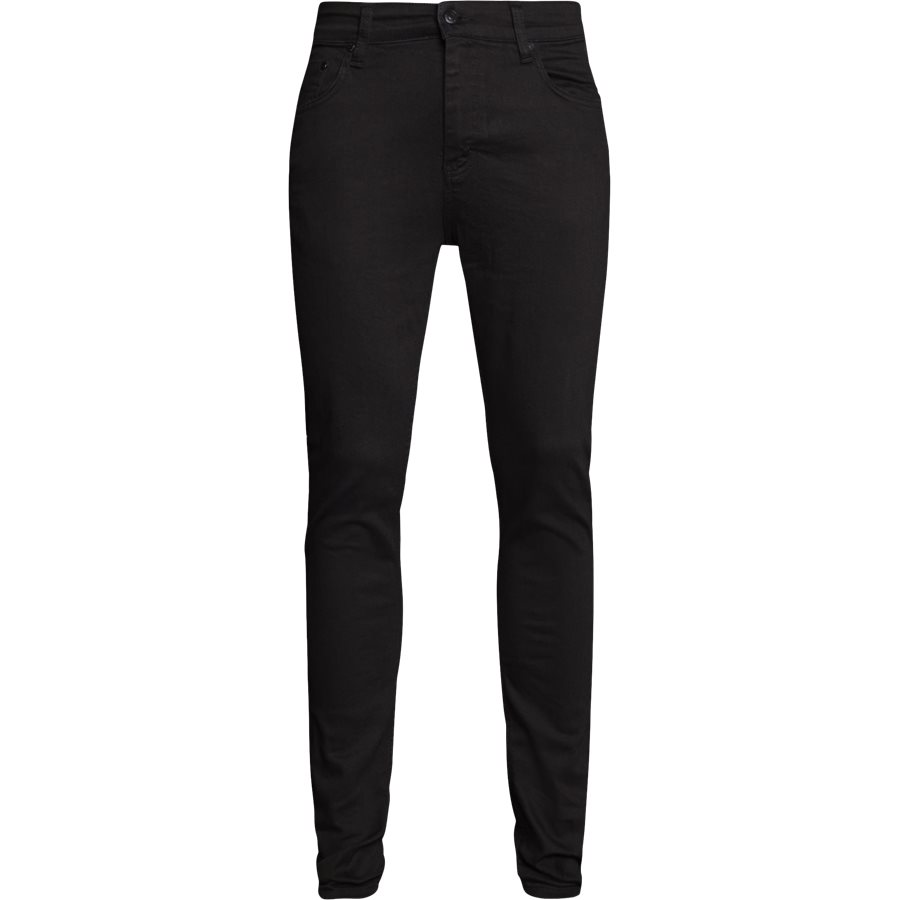 NIGHT SICKO BLACK - Night Sicko Black Jeans - Jeans - Slim - SORT - 1