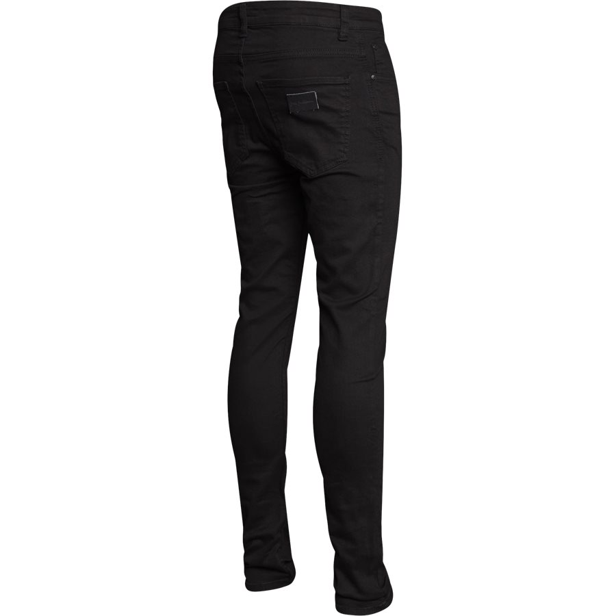 NIGHT SICKO BLACK - Night Sicko Black Jeans - Jeans - Slim - SORT - 2