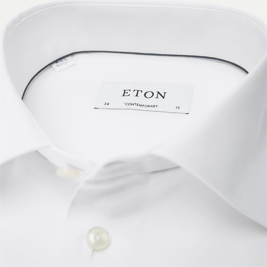 3000 79311 CONTEMPORARY - 3000 Signature Twill Dress Skjorte - Skjorter - Contemporary fit - HVID - 2