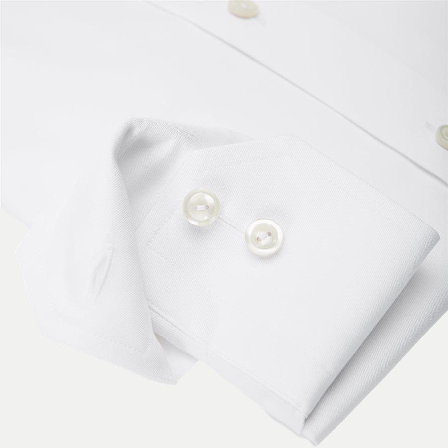 3000 79311 CONTEMPORARY - 3000 Signature Twill Dress Skjorte - Skjorter - Contemporary fit - HVID - 4