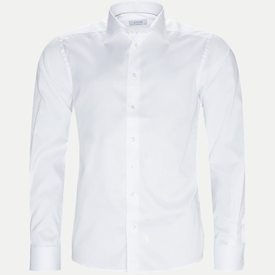 3000 79311 CONTEMPORARY - 3000 Signature Twill Dress Skjorte - Skjorter - Contemporary fit - HVID - 5