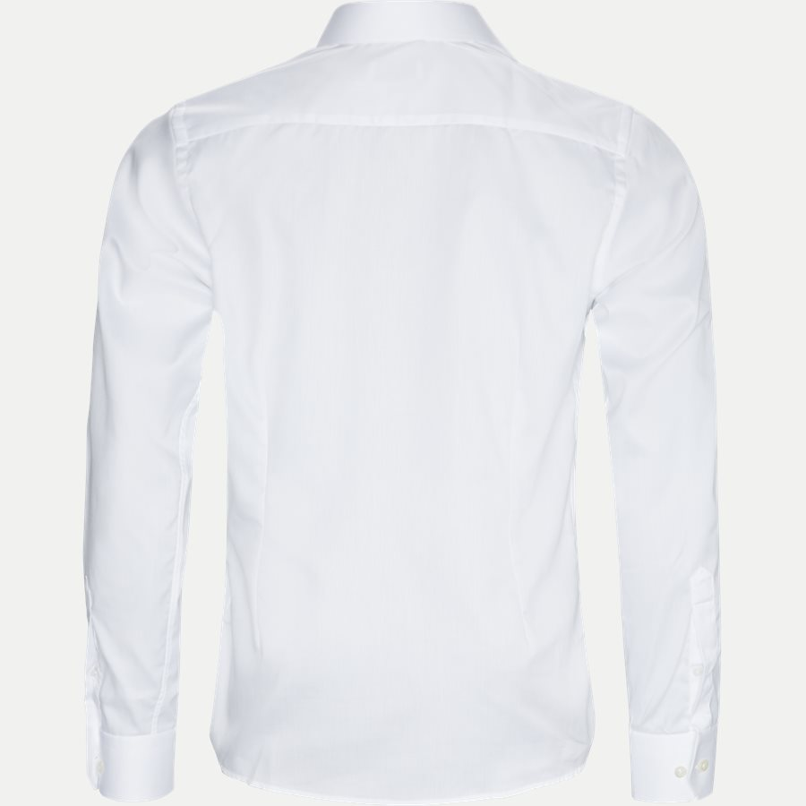 3000 79311 CONTEMPORARY - 3000 Signature Twill Dress Skjorte - Skjorter - Contemporary fit - HVID - 6
