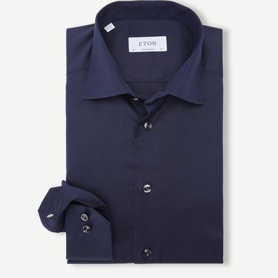 3000 Signature Twill Dress Skjorte Contemporary fit | 3000 Signature Twill Dress Skjorte | Blå