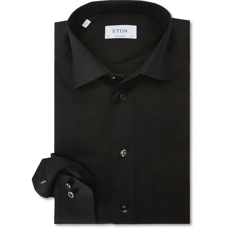 Eton - signature twill dress skjorte fra eton på kaufmann.dk