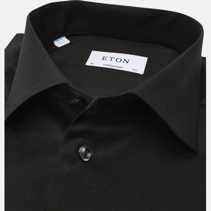 3000 79311 CONTEMPORARY - 3000 Signature Twill Dress Skjorte - Skjorter - Contemporary fit - SORT - 2