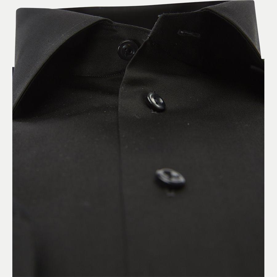 3000 79311 CONTEMPORARY - 3000 Signature Twill Dress Skjorte - Skjorter - Contemporary fit - SORT - 3