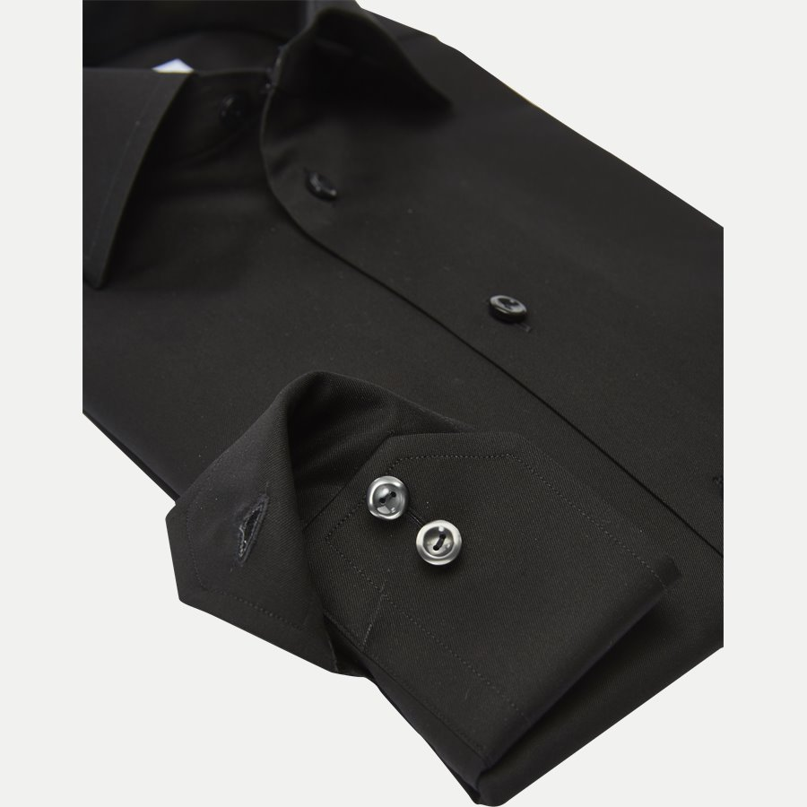 3000 79311 CONTEMPORARY - 3000 Signature Twill Dress Skjorte - Skjorter - Contemporary fit - SORT - 4