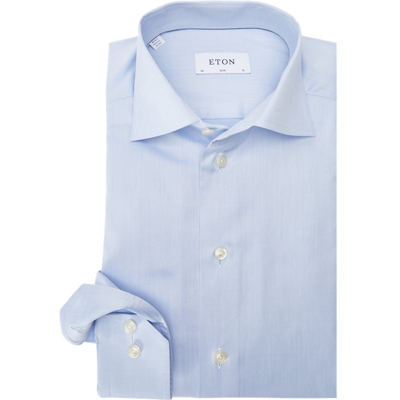 eton – Eton - signature twill dress skjorte fra kaufmann.dk