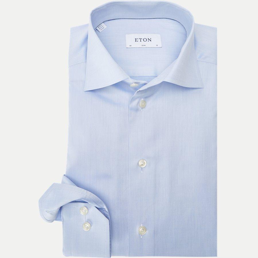 3000 79511 SLIM - 3000 Signature Twill Dress Skjorte - Skjorter - Slim - BLÅ - 1