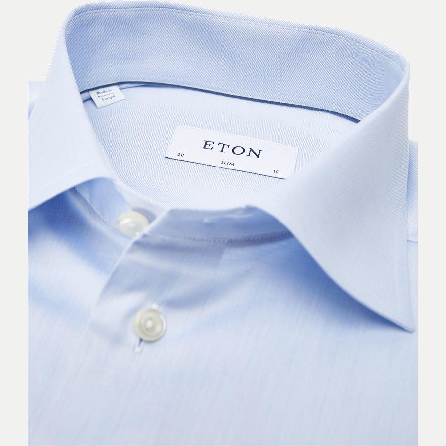 3000 79511 SLIM - 3000 Signature Twill Dress Skjorte - Skjorter - Slim - BLÅ - 2