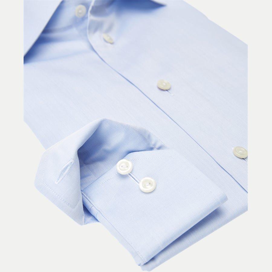 3000 79511 SLIM - 3000 Signature Twill Dress Skjorte - Skjorter - Slim - BLÅ - 4