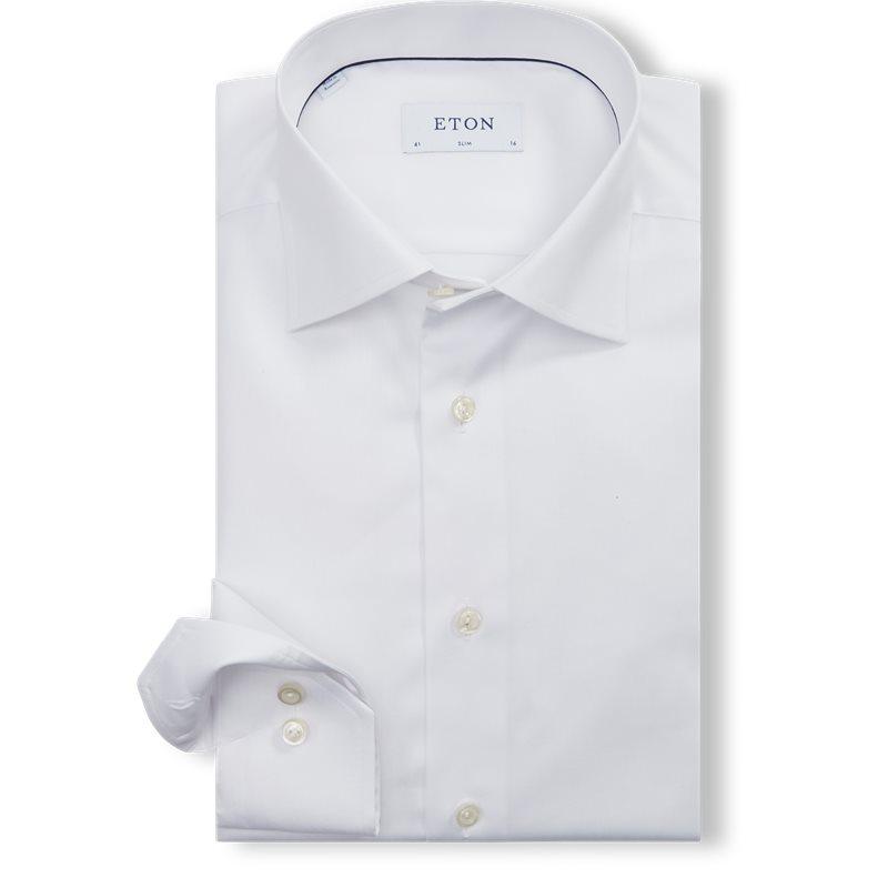 eton – Eton - signature twill dress skjorte på kaufmann.dk