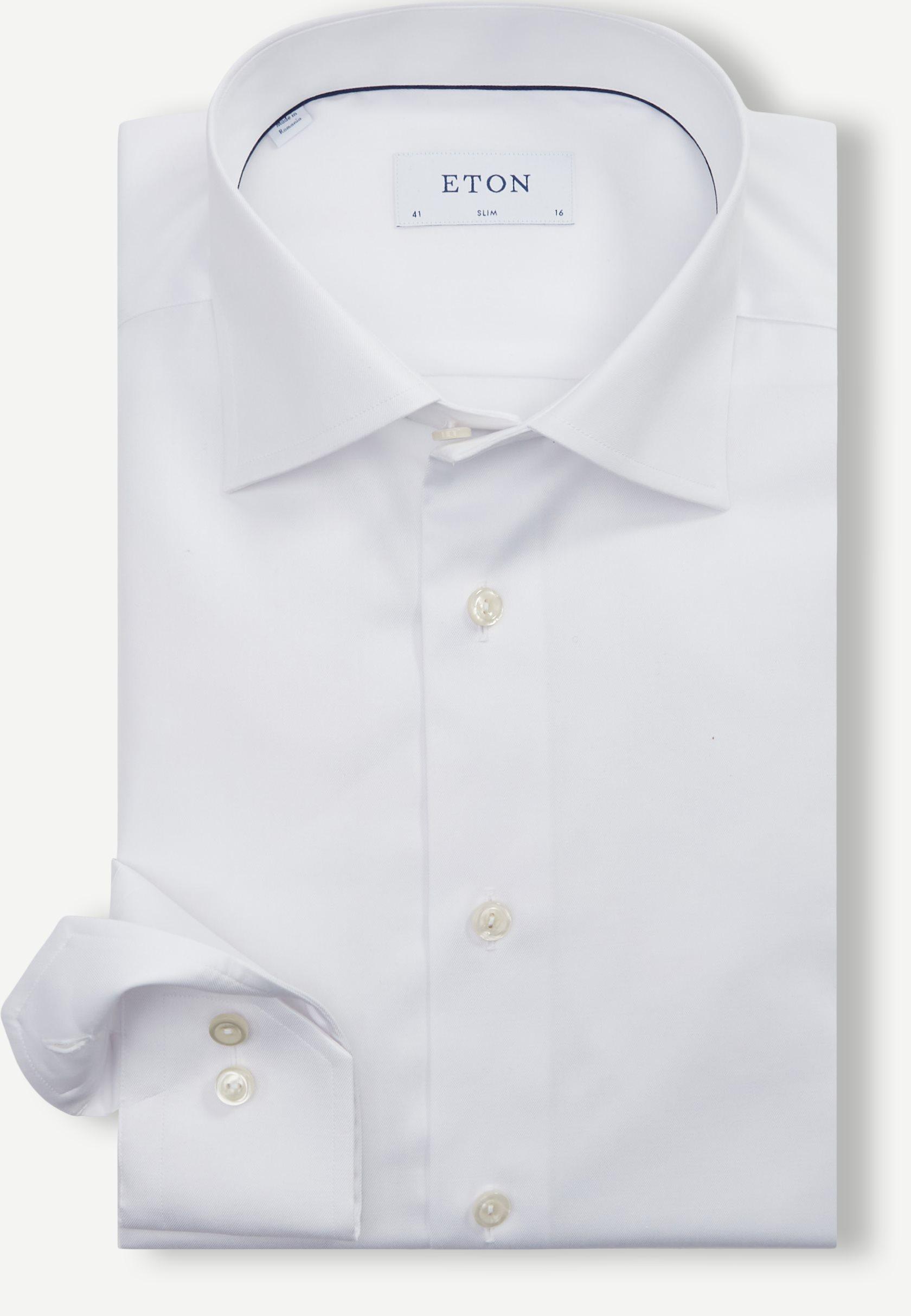 Hemden - Slim fit - Weiß