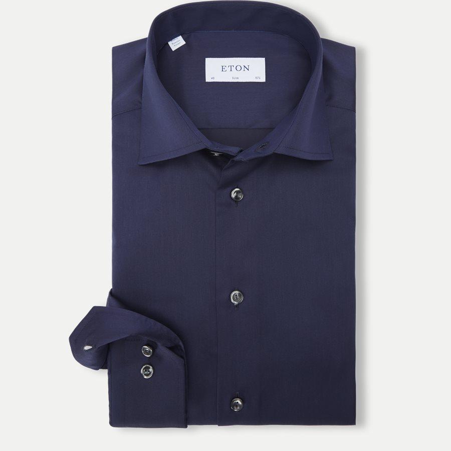 3000 79511 SLIM - 3000 Signature Twill Dress Skjorte - Skjorter - Slim - NAVY - 1