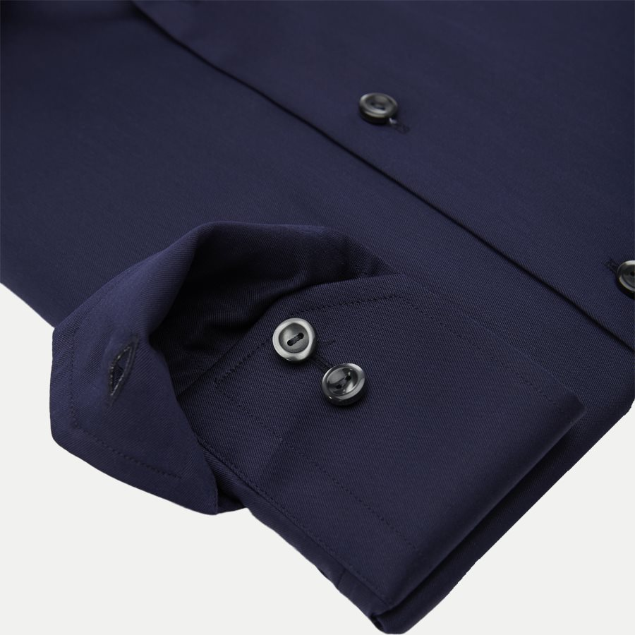 3000 79511 SLIM - 3000 Signature Twill Dress Skjorte - Skjorter - Slim - NAVY - 4