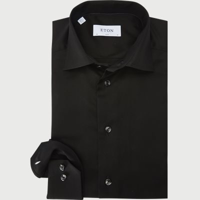 Slim | Shirts | Black