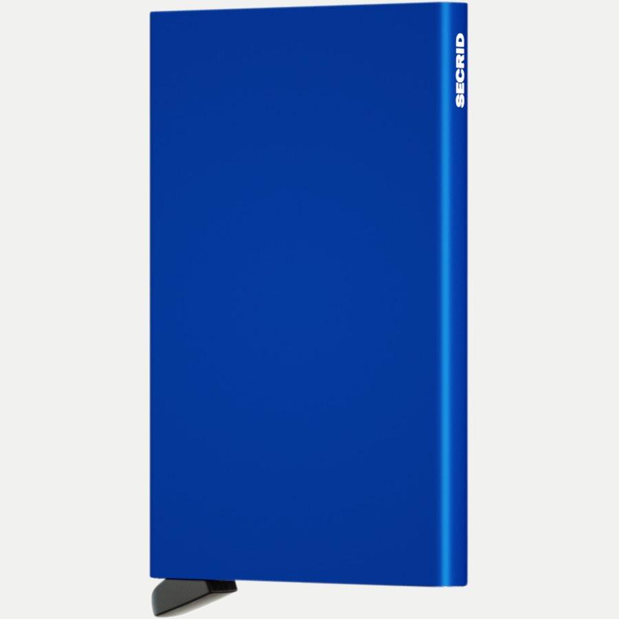 CARDPROTECTOR - Aluminiums Cardprotector - Accessories - BLUE - 1