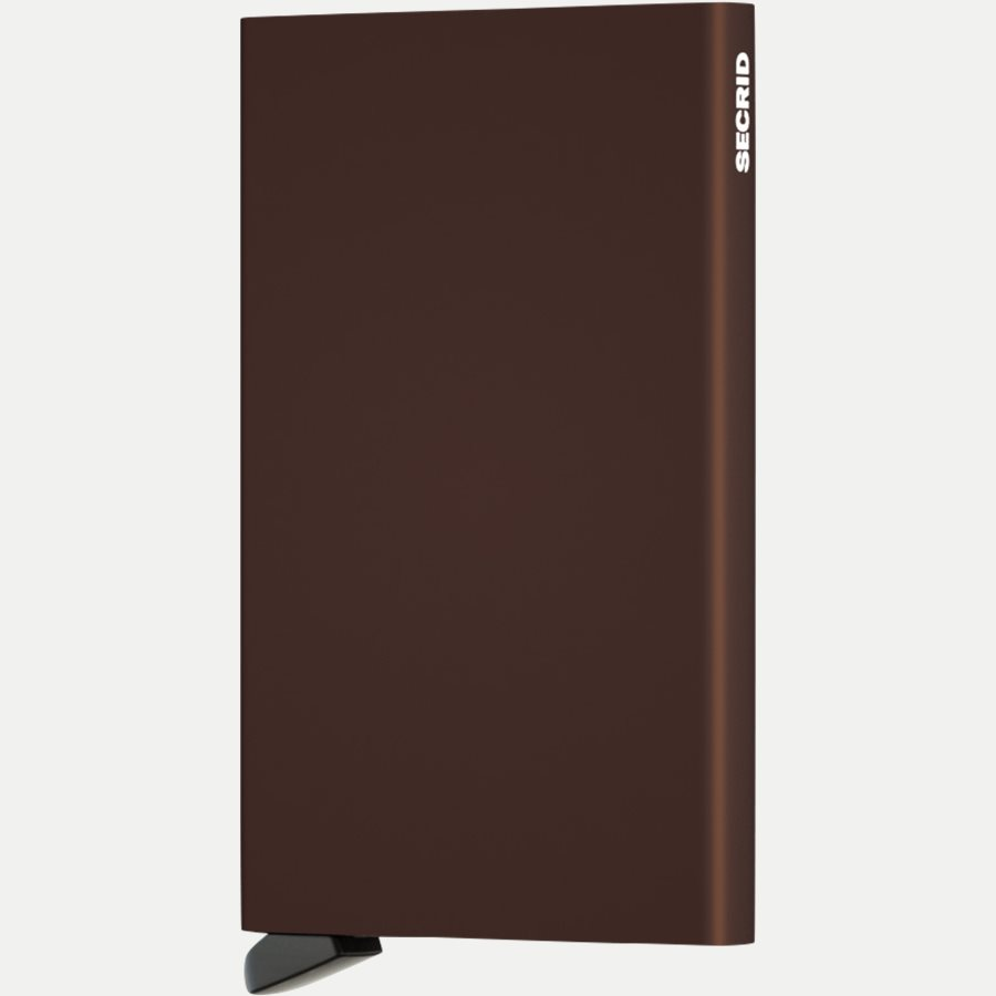 CARDPROTECTOR - Aluminiums Cardprotector - Accessories - BROWN - 1