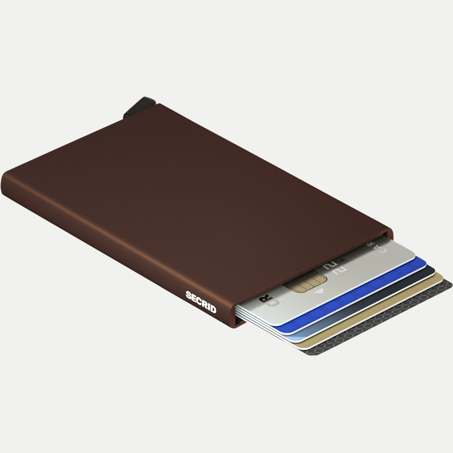 CARDPROTECTOR - Aluminiums Cardprotector - Accessories - BROWN - 3
